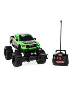 Another great find on #zulily! Green Ford F-150 SVT Raptor Remote Control Truck #zulilyfinds