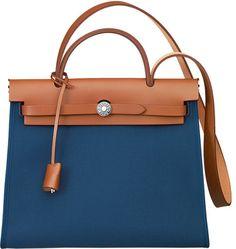 Hermes Blue Herbag Zip $2,500