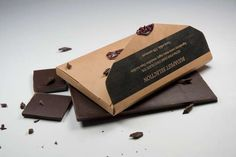 Delicious Postcard Packaging - The Post Chocolate From Lilla Toth is a Sweet Piece of Mail (GALLERY)