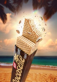 Cocosette 2016 on Behance Ads Creative, Creative Advertising, Advertising Design, Creative Design, Food Poster Design, Ad Design, Design Ideas, Poster Ads, Advertising Poster