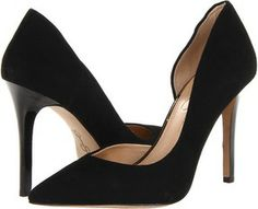 Jessica Simpson - Claudette (Black Kid Suede) - Footwear on shopstyle.com