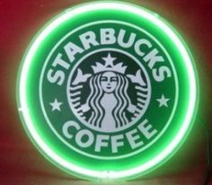 Light up starbucks sign will be in my kitchen!