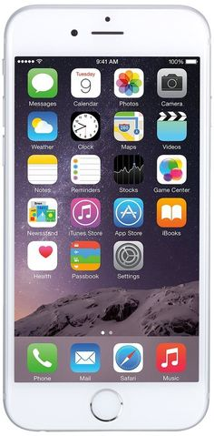 Apple iPhone 6 Plus 16 GB T-Mobile, Silver