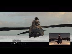 How To Train Your Dragon 2 - First Meeting Previs by James Bennett (Senior Previz Artist) - Zerply