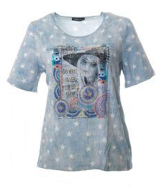 www.zimano.de t-shirt-sterne-damen-grosse-groessen-blau a-433588