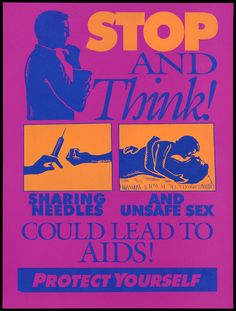 AIDS awareness posters from the 1980s onwards | Wellcome Collection