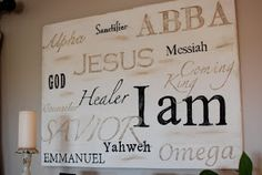 "Between Here And Home: ""I Am"" Sign"