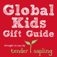 A selection of 50 beautiful gift ideas for global kids!