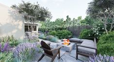 Explore recent outdoor space design projects completed by the talented landscape designers at Yardzen. Backyard Landscaping, Landscaping Ideas, Backyard Ideas, Garden Ideas, Backyard Designs, Backyard Retreat, Modern Landscaping, Backyard Patio, Gardens