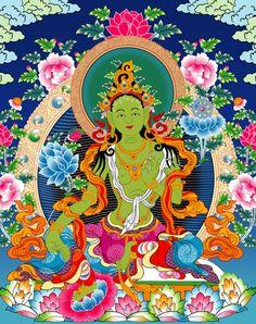green Tara • inspired by krsna
