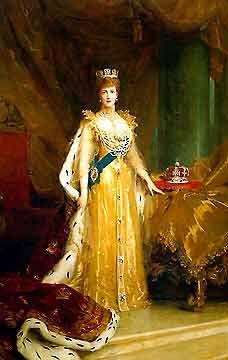 Queen Alexandra (1844-1925) of England.