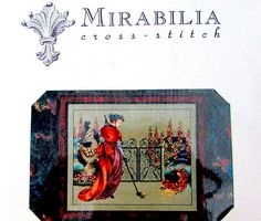 MIRABILIA CROSS STITCH Pattern// . A Vintage Counted Cross