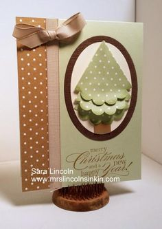 Scallop Christmas Tree