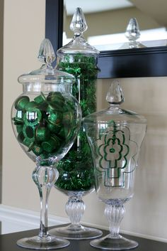 Disclosure: This post may contain affiliate / referral links. Read the full disclosure.These are my St. Patrick's Day apothecary jars from last ear, but I wanted to share early in case anyone was looking for ideas. I want to do something different this year, but I feel like my options are fairly limited. There are …