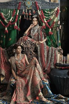 Ali Xeeshan outfits for Libas Magazine by Athar Shehzad Photography