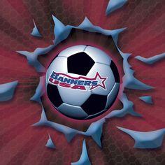 BannersUSA 2014 Summer Soccer Banners