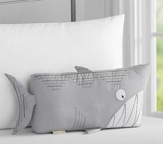 Shark Decorative Pillow | Pottery Barn Kids