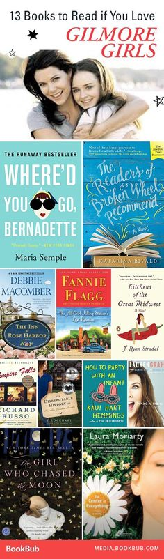 If you're looking for a great Mother's Day gift for your book-loving mom, check out these great books for Gilmore Girls fans. They feature quirky mothers and daughters, charming towns, and more.