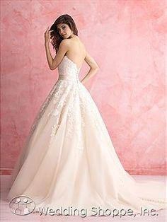 Bridal Gowns Allure Romance 2809 Bridal Gown Image 1