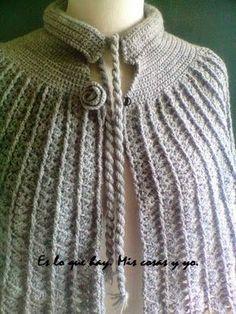 Blog sobre Crochet, Ganchillo, Punto a dos Agujas o palitos, Recetas y Manualidades. Crochet Baby Poncho, Crochet Summer Hats, Crochet Cape, Newborn Crochet, Crochet Scarves, Crochet Clothes, Free Crochet, Knit Crochet, Shawl Patterns