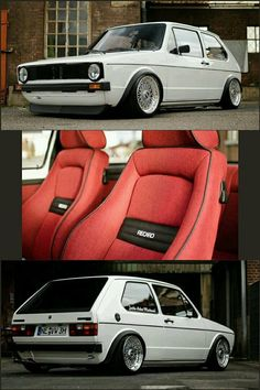 Cool Volkswagen 2017 - Cool Volkswagen 2017: Volkswagen Golf Mk1 Rabbit GTi with Recaro seats... Cars ... Cars World