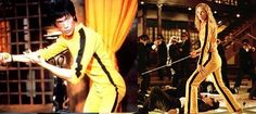 """Billy Lo (""""Game of Death"""") and Beatrix Kiddo - Black Mamba (""""Kill Bill"""") shared the jumpsuit!!"""