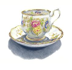 Tea Cup  Drawing