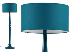 Olivia Floor Lamp, Teal Bedroom Ceiling, Bedroom Lamps, Bedroom Lighting, Free Standing Lamps, Teal, Turquoise, Floor Lamp, Family Room, Table Lamp