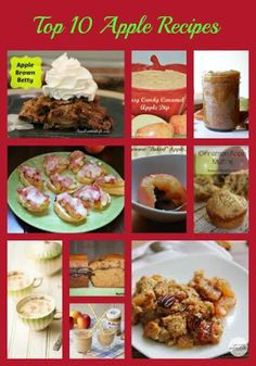 10 easy apple recipes from food bloggers, caramel apple dip recipe, apple butter recipe, apple dump cake recipe & more