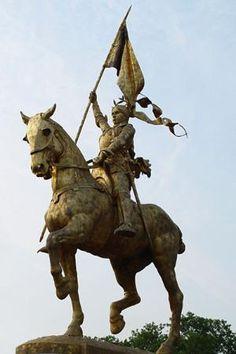 Joan of Arc Statue ~ Philadelphia, Pennsylvania