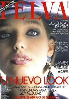 c53835a08 Telva - Telva February 2012 Cover Febrero, Portadas, Emily Didonato, Cine,  Carteles