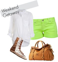 Weekend Getaway, created by thanhduong on Polyvore