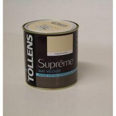 Peinture bois acrylique exterieur en 0 5l de couleur bleu vend en de marque ripolin dans la for Peinture satinee couleur