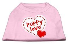 Puppy Love – Dog Shirt - poly/cotton- sleeveless- shirt