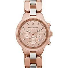 Michael Kors Showstopper - Love rose gold with silver perfect combo!