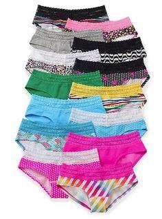 24 PAIRS x BONDS Girls Bikini Briefs Underwear Undies Brief Undies CLEARANCE