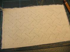 lattice smocking - 2
