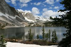 Wyoming in July ~ Mirror Lake, Snowy Mountain Range, Medicine Bow National Forest