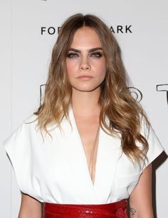 Cara Delevingne at Paper Towns Screening in West Hollywood.