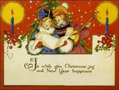 christmas cards of the 1920s - Bing images
