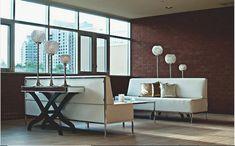 Interior Design Courses, Office Interior Design, Brick Interior, Interior Designing, Diy Interior, Luxury Interior, Living Room Modern, Living Room Interior, Living Spaces