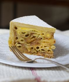 Dessert Recipe: Croatian Stonska Torta Recipes from The Kitchn - ok, so I know it looks weird, but my mother in law makes apple macaroni that's quite frankly pretty yummy, so I totally can imagine the possibilities here!!