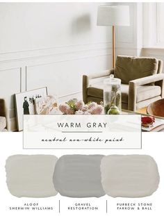the coco kelley Guide to the Best Neutral Paint Colors that AREN'T White | Warm Grays