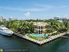 5 Harborage, Fort Lauderdale, FL - $32,000,000, 6 Beds, 9 Baths. Ft. Lauderdale\'s premiere trophy residence is positioned on 3 lots in the exclusive guard gated Harborage Isle. Boasting wide Intracoastal & city views & 505\' of mega yacht dockage. The incomparable estate offers 6BR/7.2BA/6CG & 17,037sf of total luxury. Features & amenities incl. rotunda entry, dbl. staircase, elevator, beautiful marble, onyx &...