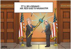 Mr. Reid Goes to Capitol Quip