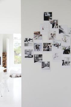 Prints - decoration idea - photo wall - home - wall deco Picture Wall, Photo Wall, Postcard Wall, Wall Decor, Room Decor, Polaroid Pictures, Scandinavian Interior, My Room, Decoration