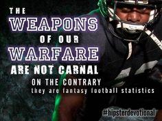 Hipster Devotional #16: Weapons of Warfare