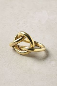 Knotted Weave Ring: Anthropologie.