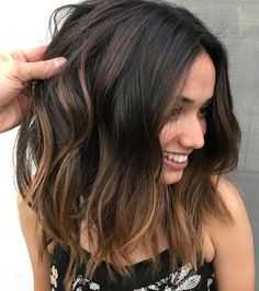 top 18 Balayage Hair Ideas in Brown to Caramel Tone