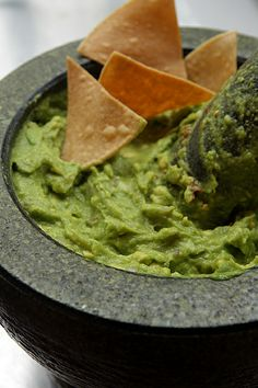 I love a good guac! This is a great guacamole recipe by David Lebovitz